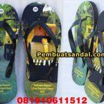 sandal jepit spon souvenir